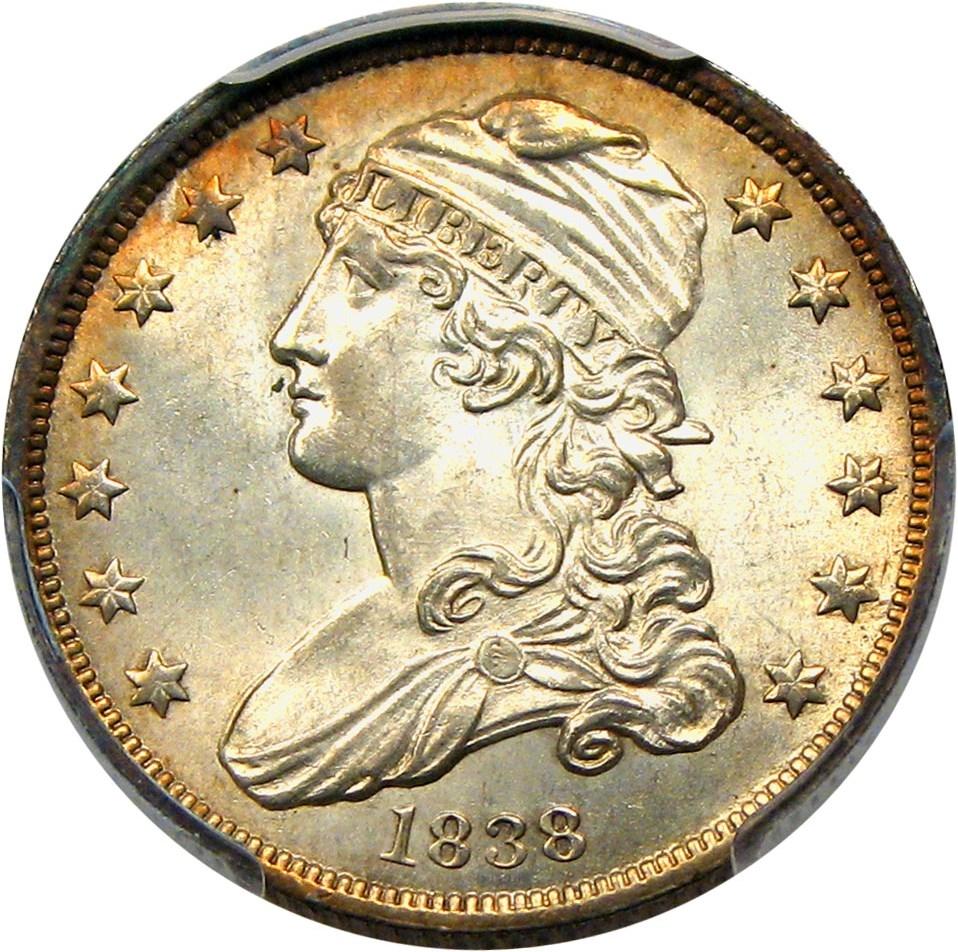 GFRC Open Set Registry - Winesteven 1831-1838 Capped Bust Sm Size 25C